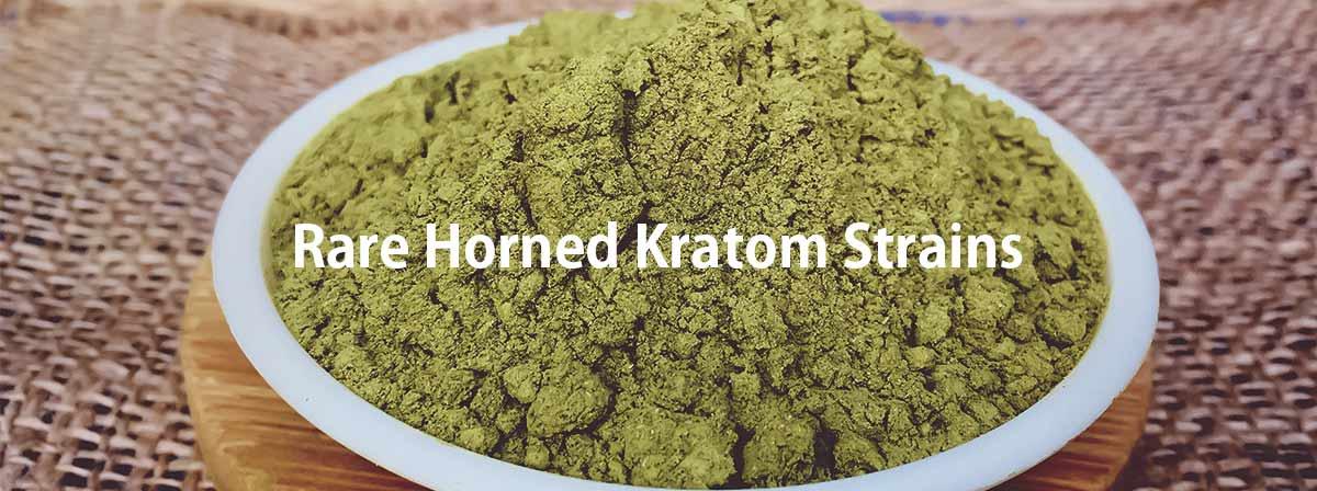 Rare Horned Kratom Strains
